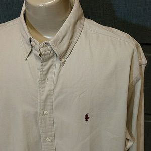 Ralph Lauren EUC medium weight cotton shirt